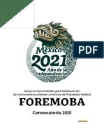 convocatoria foremoba_2021