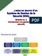 Module 3_Introduction à la getion de la sécurité