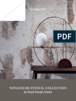 Novacolor Stencil Collection