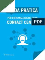 Guida pratica per l'organizzazione di un Contact Center EBOOK