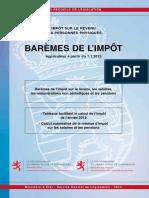 Bareme Impot Luxembourg 2013