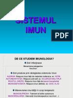 Curs 1 - Introducere. Celulele sistemului imun