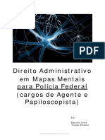 Direito Administrativo Em Mapas MentaisPF