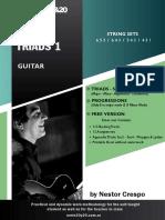 Spread Triadas 1 - Guitar - Nestor Crespo - Free