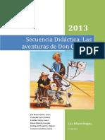 secuencia didactica el quijote