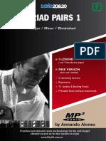 TRIAD PAIRS 1 - Key of F - Theory - Armando Alonso