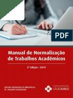 Manual de Normalização de Trabalhos Acadêmicos 2019