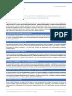 POLITICA GESTION DE PERSONAS Y ADMINISTRACION
