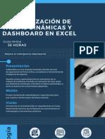 Esp. Tablas Dinámicas y Dashboard