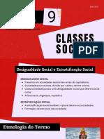 Aula 9 - Classes Sociais