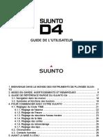 Suunto D4 Manual