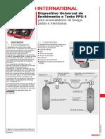 Dispositivo Universal de Enchimento e Teste Fpu 1 Para Acumuladores de Bexiga Pistao e Membrana
