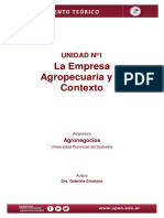 Agronegocios - Unidad 1 - Cristiano