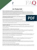 1203c-En Electric Pump Unit Faq