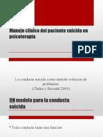 Psicopatología y Suicidio