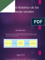 Devenir Historico de las Ciencias Sociales Diapositivas