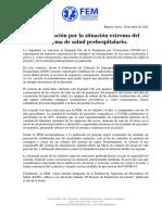 Comunicado Situacion Covid 10-04