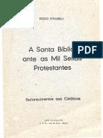 Pedro Strabelli - A Santa Bíblia Ante as Mil Seitas Protestantes