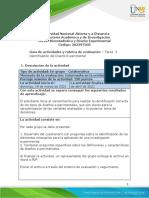 Guía Tarea 3 - Identificación del Diseño Experimental