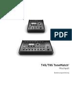 Bose® T4S ToneMatch® Bedienungsanleitung