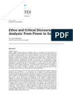 Ethos and Critical Discourse Analysis_ From Power to Solidarity