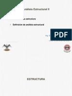1 - Estructura y analisis estructural