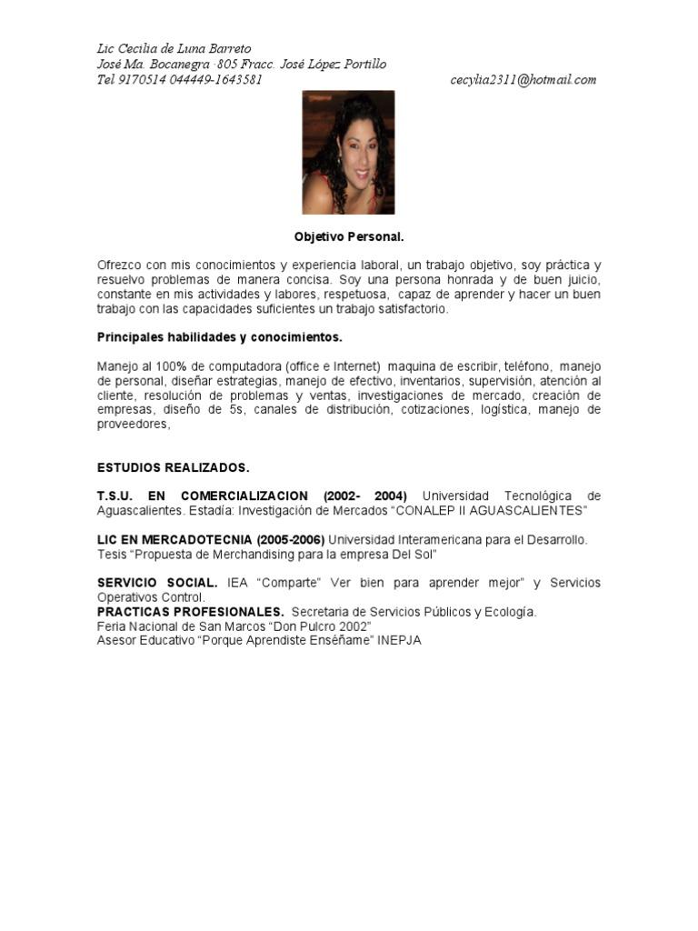 Increíble Habilidades Blandas, Curriculum Vitae Inspiración ...