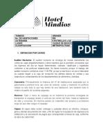 Actividad Apoyo - Hotel Grande
