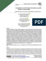 Desinformação e competência em informação discussões e possibilidades
