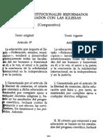 13 TEXTOS CONST. REFORMADOS RELACIÓN IGLESIA
