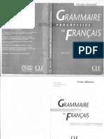 Grammaire Progressive Du Francais Avec 400 Exercices Niveau Debutant_text