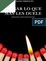 Erriguel Adriano - Pensar Lo Que Mas Les Duele