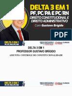 Delta 3 Em 1 - Controle de Constitucionalidade - 11 03 - Gustavo Brígido