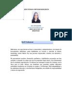 GEIDY VIVIANA CORTAZAR RONCANCIO HOJA DE VIDA