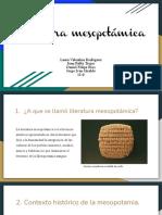 Literatura Mesopotamica