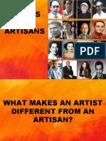 REPORT Artist and Artisans