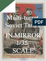 Multi-turret Soviet Tanks in the Mirror 1/35 Scale v.02