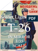 Soviet Light Tank T-26 in Mirror Scale 1/35 Ver.01