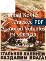 Small Soviet Tracked Armored Vehicles in Mirror Scale 1/35 Ver.01