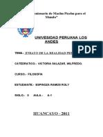 76694381 Filosofia Realidad Peruana