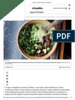 La zuppa di broccoli e fagioli - la Repubblica