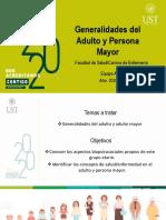 1.3. Generalidades del Adulto y Persona Mayor