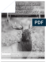 2011 Big Game Seasons & Application Regulations