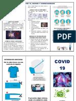 TRIPTICO COVID 19