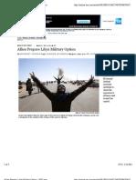 Allies Prepare Libya Military Option - WSJ.com