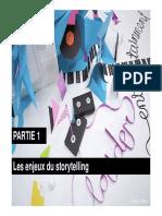 Présentation Storytelling Partie 1 Def Mode de Compatibilité
