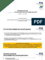 AG_Verwaltungsrecht_Termin_8 - Arbeitsgemeinschaft