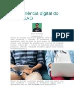 A experiência digital do aluno EAD