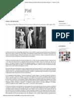 'La Princesa Borbón' Historias de travestis ladronas de principios del siglo XX