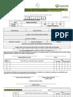 Solicitud de registro 2011